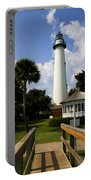 St. Simon's Island Georgia Lighthouse Painted Portable Battery Charger