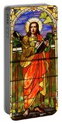 St. Stan's Stained Glass Portable Battery Charger