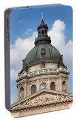 St. Stephen's Basilica Dome In Budapest Portable Battery Charger