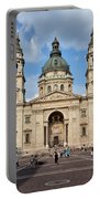 St. Stephen's Basilica In Budapest Portable Battery Charger