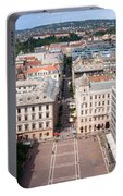 St Stephen's Square In Budapest Portable Battery Charger