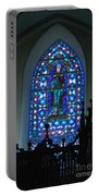 St Thomas Stained Glass Portable Battery Charger