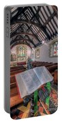 St Tysilios Bible Portable Battery Charger by Adrian Evans