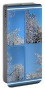 St. Valentine's Day Snowstorm Portable Battery Charger