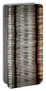 Stacked Coins Portable Battery Charger