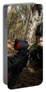 Staff Sergeant Hydrates Portable Battery Charger