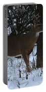 Stag In The Woods Portable Battery Charger