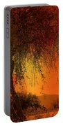Stained By The Sunset Portable Battery Charger