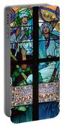 Stained Galss Window In St Vitus Portable Battery Charger