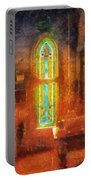 Stained Glass 05 Photo Art Portable Battery Charger