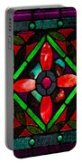 Stained Glass 2 Portable Battery Charger
