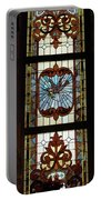 Stained Glass 3 Panel Vertical Composite 03 Portable Battery Charger