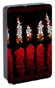 Stained Glass Candle Portable Battery Charger