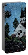 Stained Glass Church Scene Portable Battery Charger