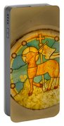 Stained Glass In Colva Portable Battery Charger
