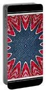 Stained Glass Lace - Kaleidoscope Portable Battery Charger