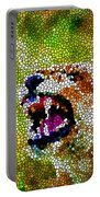 Stained Glass Leopard 3 Portable Battery Charger