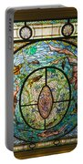 Stained Glass Skylight In Fordyce Bathhouse Portable Battery Charger