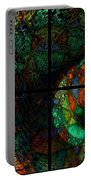 Stained Glass Spiral Portable Battery Charger