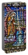 Stained Glass Portable Battery Charger by Susan Candelario
