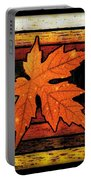 Stained Glass Template Since I Fell For You Portable Battery Charger