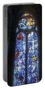 Stained Glass Triplets Portable Battery Charger