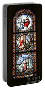 Stained Glass Window Iv Portable Battery Charger