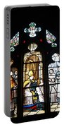 Stained Glass Window V Portable Battery Charger