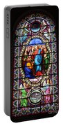 Stained Glass Window Viii Portable Battery Charger