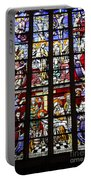 Stained Glass Window Xi Portable Battery Charger