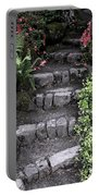 Stairway Path To Gardens Portable Battery Charger