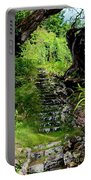 Stairway Through The Forest Portable Battery Charger