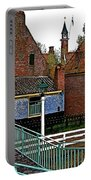 Stairway To Enkhuizen From The Dike-netherlands Portable Battery Charger