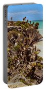 Stairway To The Tulum Beach  Portable Battery Charger