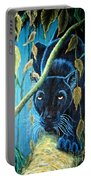 Stalking Black Panther Portable Battery Charger