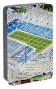Stamford Bridge Stadia Art - Chelsea Fc Portable Battery Charger