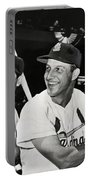 Stan Musial And Ted Williams Portable Battery Charger