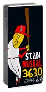 Stan Musial St Louis Cardinals Portable Battery Charger