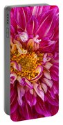 Standard Beautiful Dahlia Portable Battery Charger