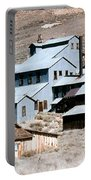 Standard Mill At Bodie Panorama Portable Battery Charger by Barbara Snyder