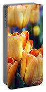 Standing Tall Tulips Portable Battery Charger