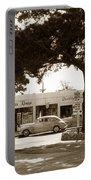 Stanifords Drug Store Ocean Ave.cor San Carlos Carmel Circa 1941 Portable Battery Charger