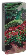 Stanley Park Rose Garden Portable Battery Charger