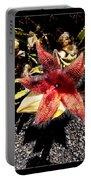 Stapelia Grandiflora Starfish Cactus Portable Battery Charger