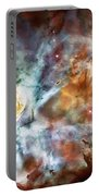 Star Birth In The Carina Nebula  Portable Battery Charger by Jennifer Rondinelli Reilly - Fine Art Photography