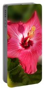 Star Bright Hibiscus Portable Battery Charger