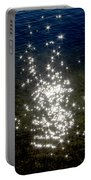 Star Reflection In The Water Portable Battery Charger