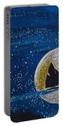 Star Sailing By Jrr Portable Battery Charger by First Star Art