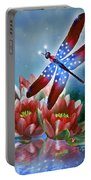 Star Spangled Dragonfly Portable Battery Charger