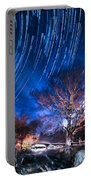 Star Trails On Acid Portable Battery Charger